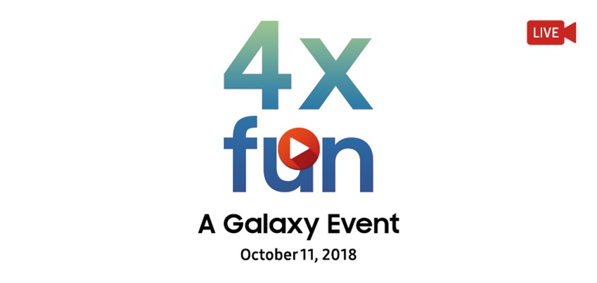 4x fun LIVE A Galaxy EVent October 11, 2018
