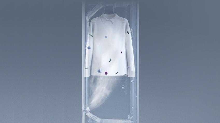 에어드레서는 안감케어 옷걸이로 의류의 겉과 안을 모두 효과적으로 관리할 수 있다.