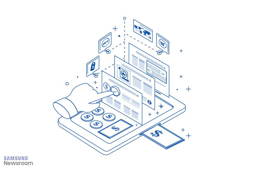 온라인 마케팅을 형상화 한 아이콘