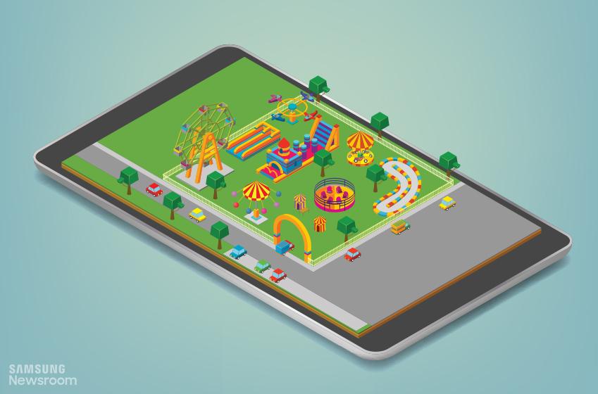 놀이동산 앱