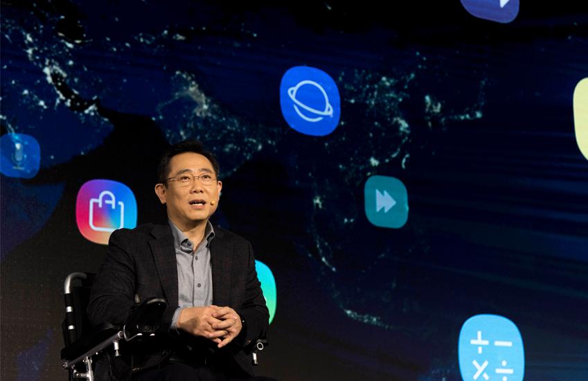 ▲ 삼성전자 정의석 부사장은 'AI, 5G 등 새로운 기술에 2020년까지 약 220억 달러를 투자할 예정'이라고 밝혔다