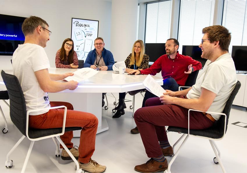 ▲ IWSLT에 참가한 삼성리서치 폴란드연구소 팀