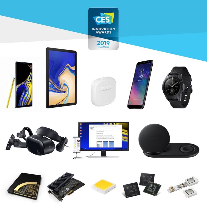 삼성전자가 내년 1월 미국 라스베이거스에서 열리는 'CES 2019'를 앞두고 최고혁신상 2개를 포함해 총 30개의 'CES 혁신상'을 수상했다.