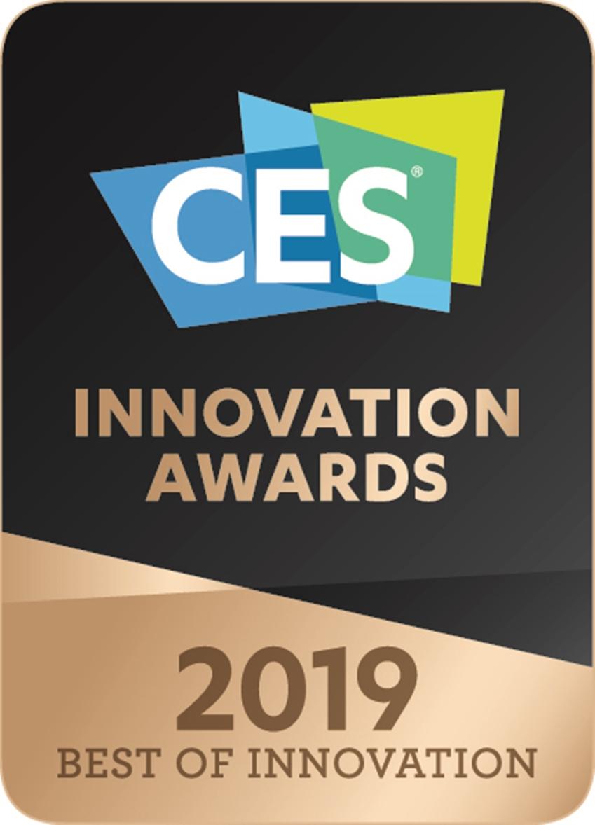 CES 2019 최고혁신상 로고 이미지
