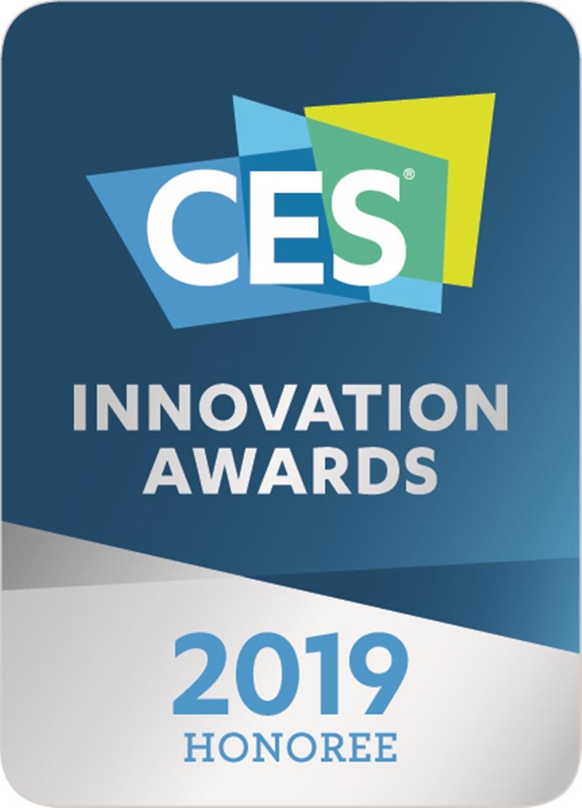 CES 2019 혁신상 로고 이미지