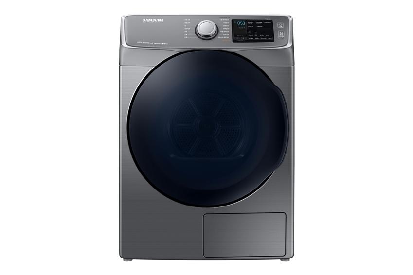삼성전자가 건조기 '그랑데' 제품군에 16kg 신모델을 출시하며 국내 건조기 대용량 시장 확대에 박차를 가한다. 사진은 삼성 건조기 '그랑데' 제품. (모델명: DV16R8540K)