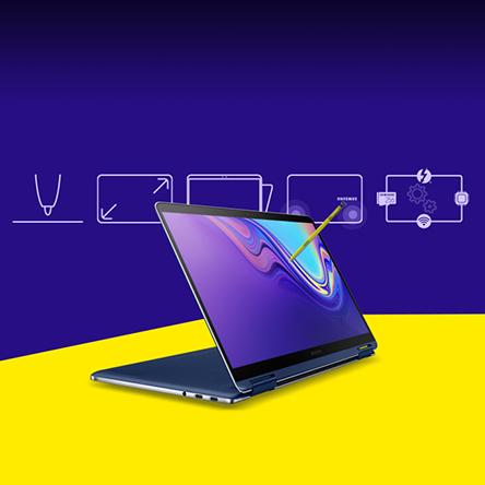 한눈에 살펴보는 '삼성 노트북 Pen S'