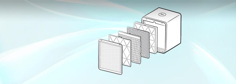 먼지 철통방어하는 공기청정기 필터, 관리법은?