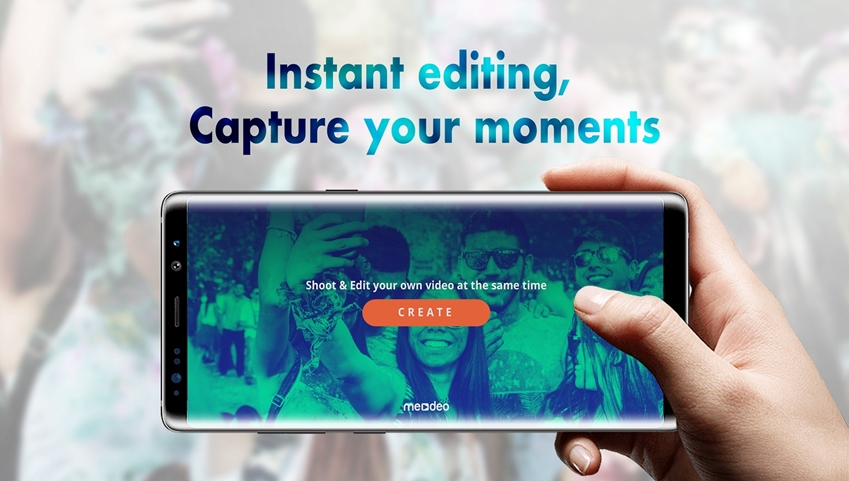 영상 촬영과 동시에 편집해주는 실시간 비디오 생성 서비스 '미디오'