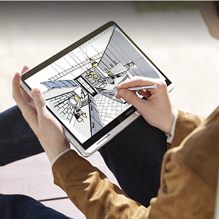 삼성 노트북 Pen S의 특별한 소프트웨어