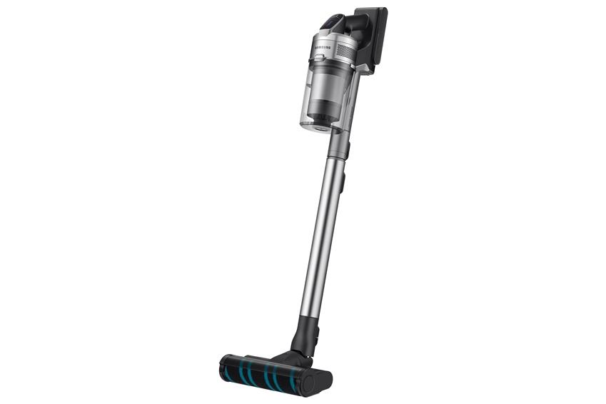 삼성전자가 무선 청소기 업계 최고 수준인 200W(와트) 흡입력을 구현하고 차별화된 미세먼지 배출 차단 시스템을 갖춘 프리미엄 무선청소기 '삼성 제트'를 출시한다. 사진은 '삼성 제트(모델명: VS20R9078S3)' 무선 청소기 제품.