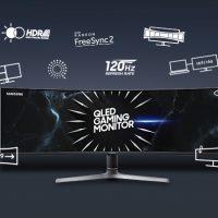 [인포그래픽] 같은 게임, 완전히 다른 몰입감 '세계 최대 크기 게이밍 모니터 CRG9'