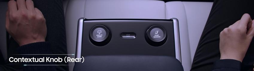 contextual knob (rear)