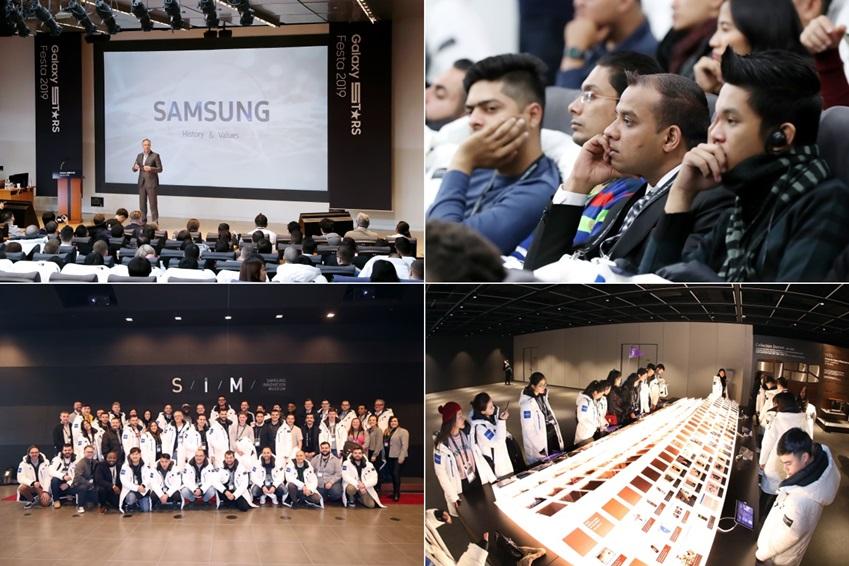 갤럭시 스타 참가자들과 함께 제품 판매, 고객 서비스에 대한 노하우를 공유했다. 경기도 수원 디지털시티에 있는 삼성이노베이션뮤지엄(S/I/M)을 둘러보며, 삼성이 전자산업 발전에 기여한 역사를 돌아보는 시간도 마련했다.