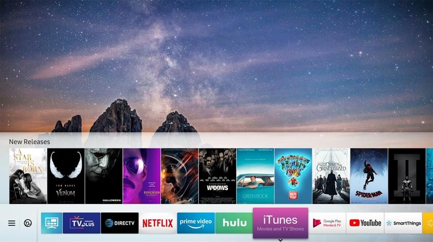 거의 모든 유형의 콘텐츠를 즐길 수 있는 삼성 스마트 TV
