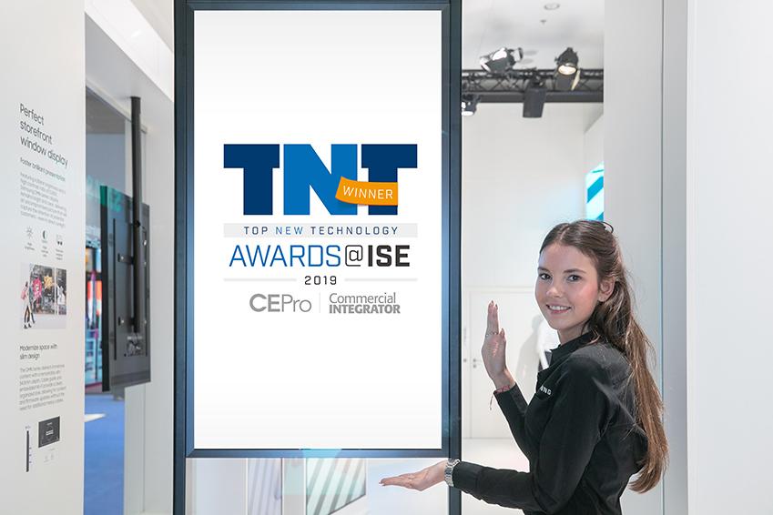 세미 아웃도어 사이니지 OMN 시리즈 : 커머셜 인티그레이터 'ISE2019 최고의 디스플레이(All-Weather Display 부문)' 선정, CE Pro '최고의 신기술(Top New Technology)' 선정