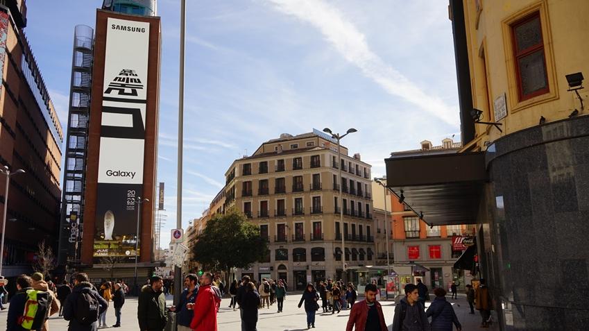 스페인 마드리드 까야오 광장(Plaza del Callao)