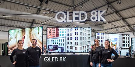 유럽에서 2019년형 'QLED TV' 전 라인업 공개