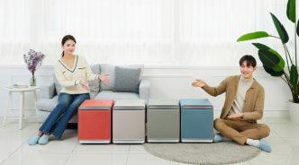 프리미엄 공기청정기 '삼성 큐브', 다채로운 색상으로 봄맞이
