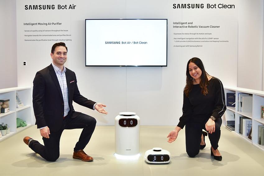 삼성전자, 美 라스베이거스에서 주방 로봇 등 '미래 IoT홈' 비전 제시