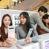 삼성전자, 갤럭시 S10 '갤럭시 스튜디오'서 최초 5G 스마트폰 체험 개시