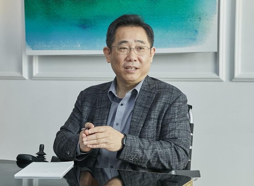 ▲ 삼성전자 무선사업부 정의석 부사장