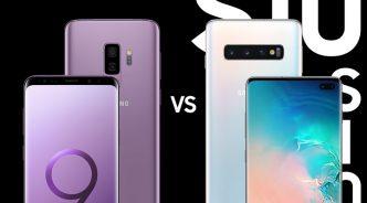 [인포그래픽] 갤럭시 S10+ vs. 갤럭시 S9+, 무엇이 다를까