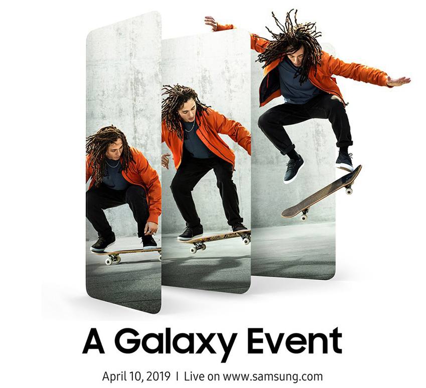 A Galaxy Event / April 10, 2019 / Line on www.samsung.com