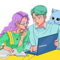 '삼성 노트북 Pen S'의 매력, 웹툰으로 만나보세요