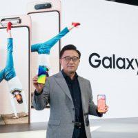 삼성전자, 갤럭시 최초 로테이팅 카메라 탑재 '갤럭시 A80' 공개