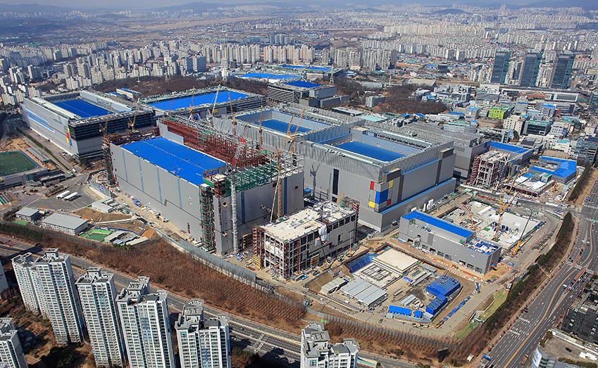 화성캠퍼스 EUV 라인 전경('19.3월 촬영)