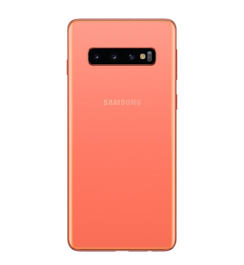 '갤럭시 S10'·'갤럭시 S10+' 플라밍고 핑크 색상 제품 이미지