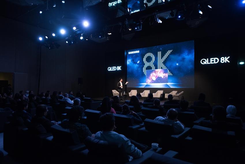 삼성전자, 'QLED 8K'로 중동 시장 사로잡아