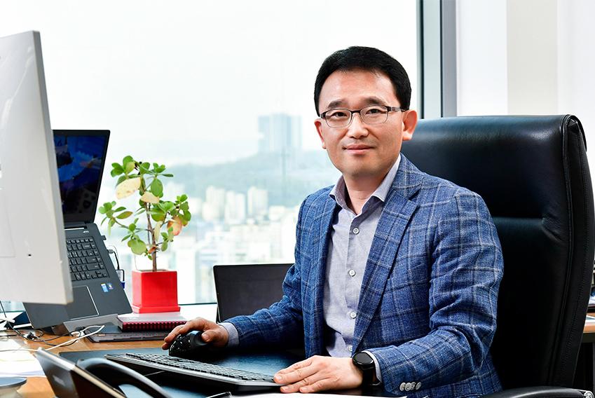 ▲ 삼성전자 무선사업부 상품전략팀장 채원철 전무