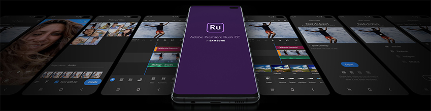 adobe premere rush cc for samsaung <Ru>>