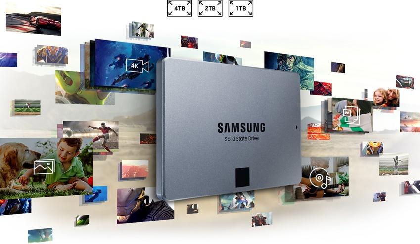 SSD '860 QVO'  이미지컷