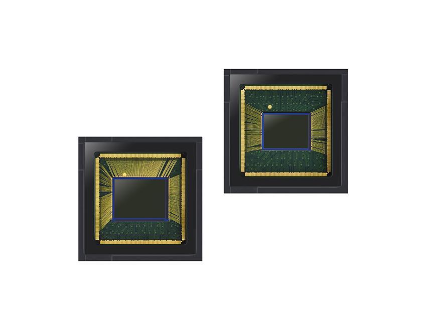 삼성전자 아이소셀 브라이트 GW1(좌), GM2(우)