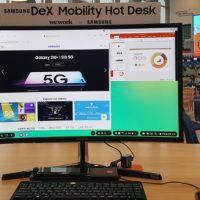 삼성전자, 위워크(WeWork)와 '삼성 덱스' 활용한 모바일 업무환경 제공
