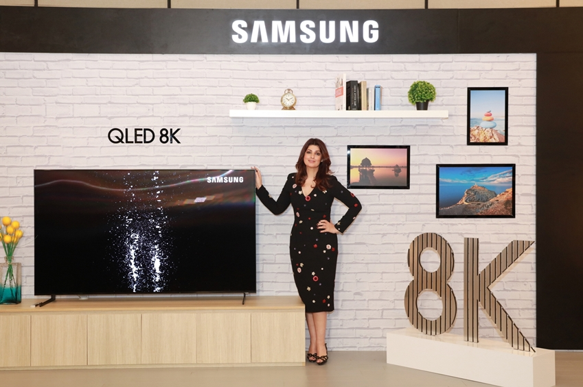 삼성전자, 인도에 QLED 8K TV 전격 출시