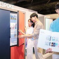 삼성전자, 전국 주요 백화점 돌며 맞춤형 냉장고 '비스포크' 로드쇼 진행