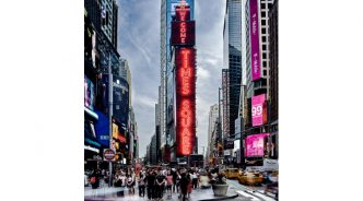 삼성 LED 사이니지, 뉴욕 타임스 스퀘어 새 얼굴 되다!