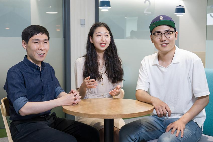 ssafy 1기 우수 교육생 최정화, 안상현, 성민규 씨