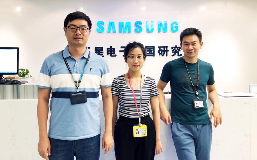 ▲ 삼성전자 북경 연구소 팀
