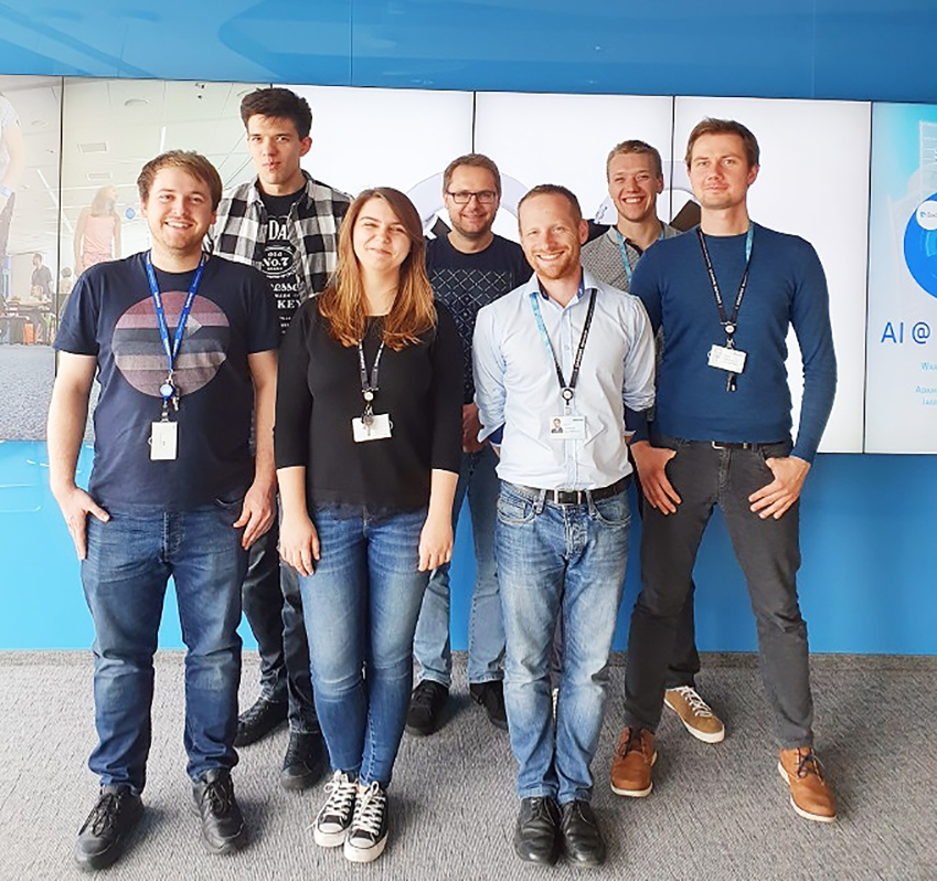 ▲ 삼성전자 폴란드 연구소 팀