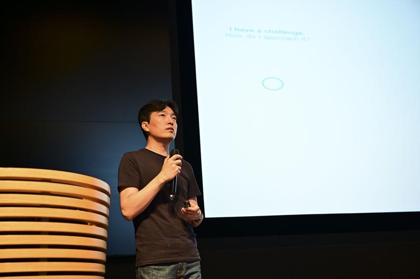 삼투솔 진출팀들의 컨설팅을 맡은 데이라이트의 성정기 디렉터