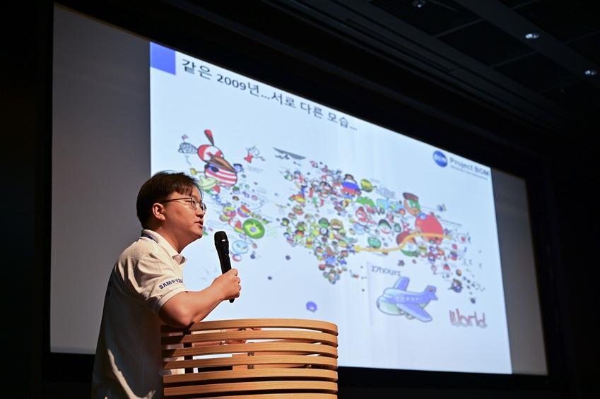 ▲ 윤상철 씨가 속해있는 '프로젝트 봄'팀은 '개발도상국을 위한 실명 예방을 위한 휴대용 안구질환 진단기기'를 개발했다.