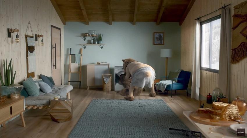 삼성전자 '에코버블' 디지털 캠페인 영상 캡처화면