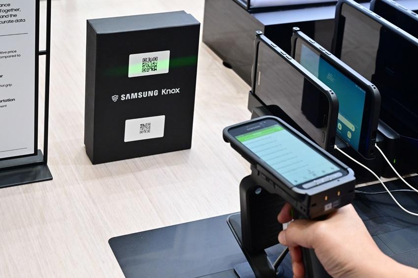 바코드/전자태그(RFID) 스캔 솔루션
