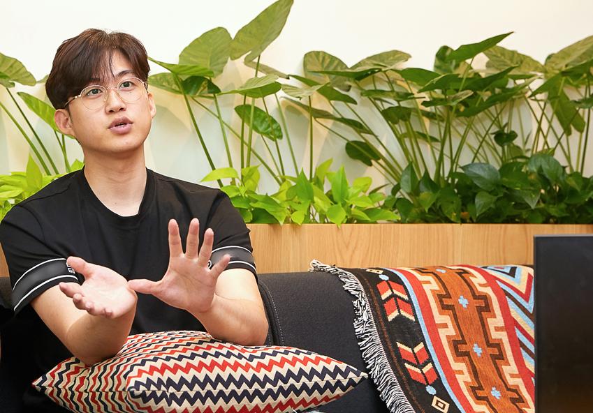 포엔트로 팀의 김봉상 씨