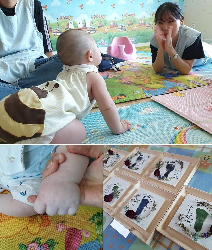 하루가 다르게 쑥쑥 크는 아기들, 이 순간을 기억하진 못하겠지만 사진으로 남긴 추억이라도 간직하기를